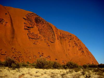 The Road to Uluru - Uluru